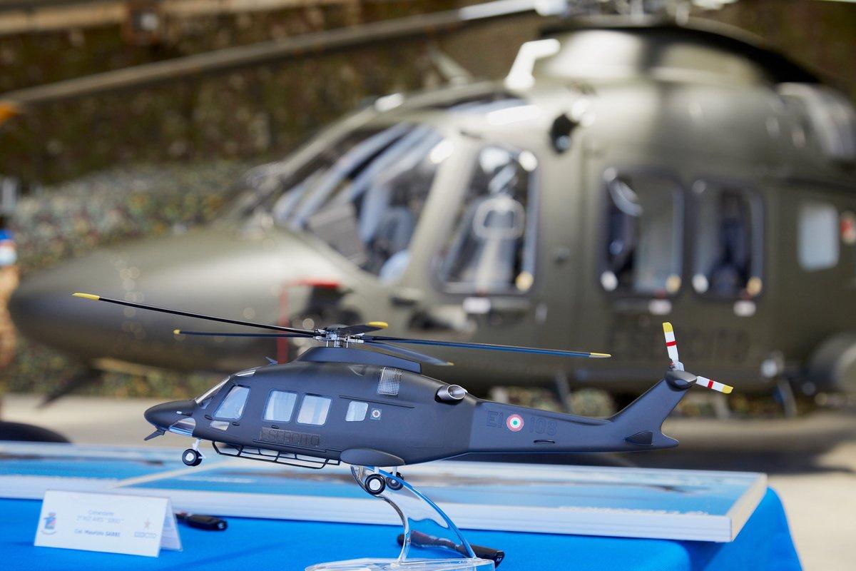 Leonardo consegna il primo elicottero AW169 all'Esercito Italiano ...