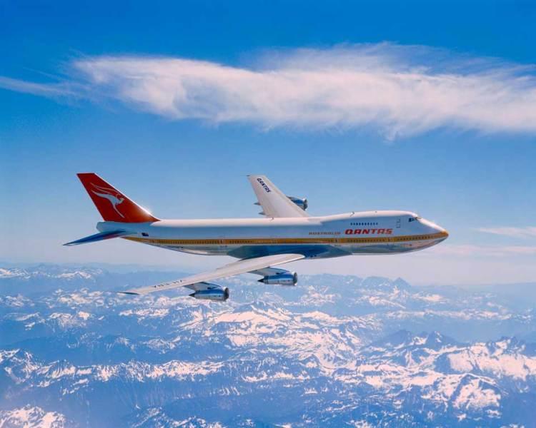Primo Qantas Boeing 747