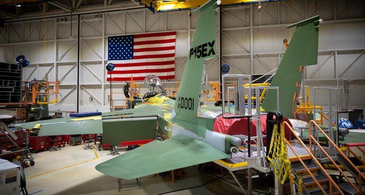 USAF Boeing F15EX