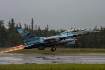 F-16 18th Agressor Squadron Alaska