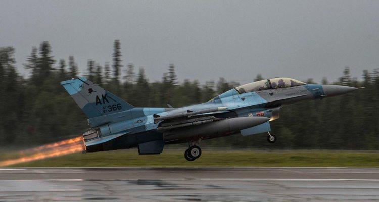 F-16 18th Agressor Squadron Alaska