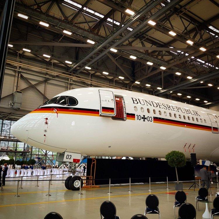 Primo Airbus A350 governo tedesco Luftwaffe
