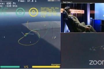 darpa air combat evolution AlphaDogfight Trials