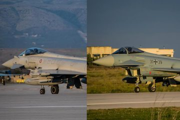 nato baltic air policing 2020 italia e germania