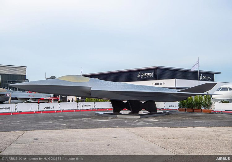 Dassault Aviation and Airbus Next Generation Fighter FCAS