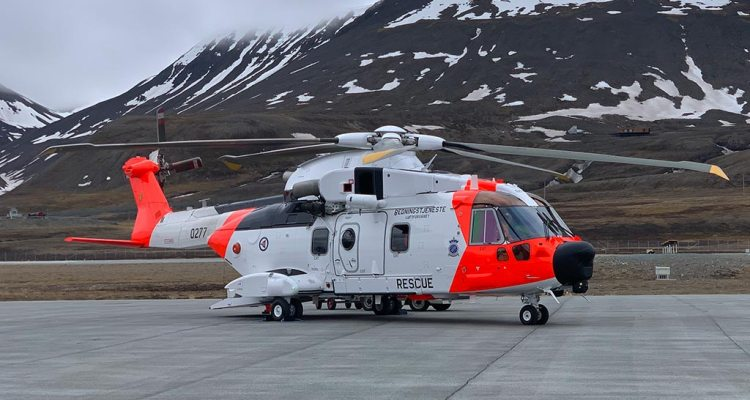 """AW101 Mk612 """"SAR Queen"""" Norvegese"""