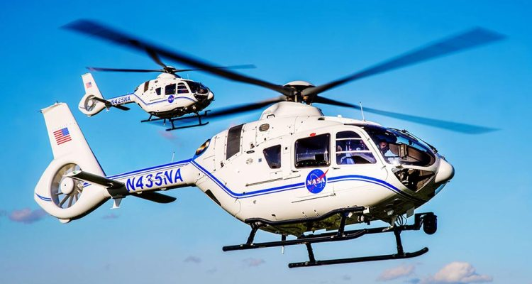 Airbus H135 della NASA