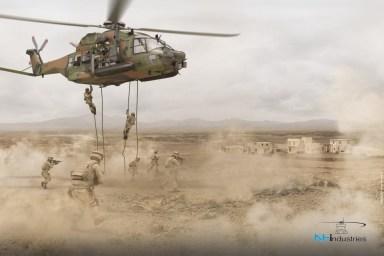 NH90 francesi deserto