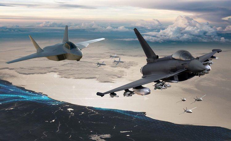 FCAS - NGWS con Eurofighter e RC