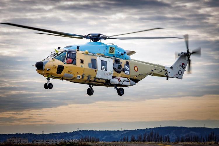 NH90 TTH Qatar primo volo