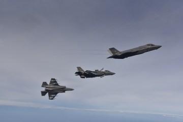 F-35A e F-35B del 32° Stormo