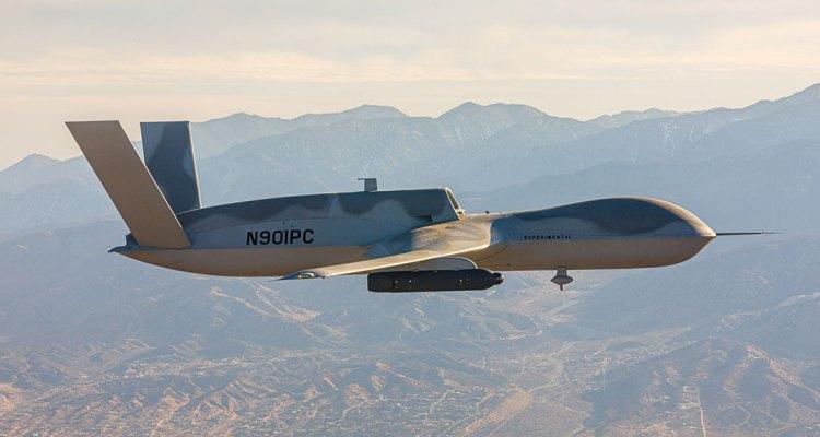 Drone Avenger con il Pod Legion