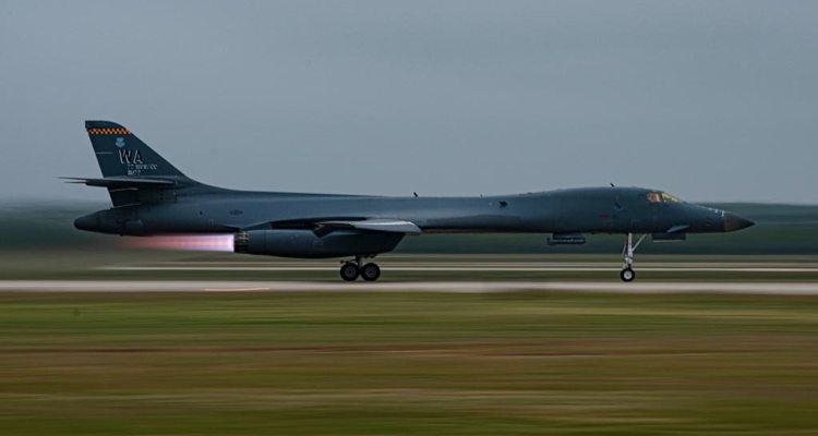USAF B-1 Lancer
