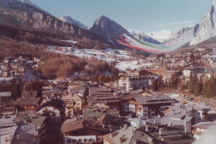frecce tricolori storia mondiali bob 1981 cortina