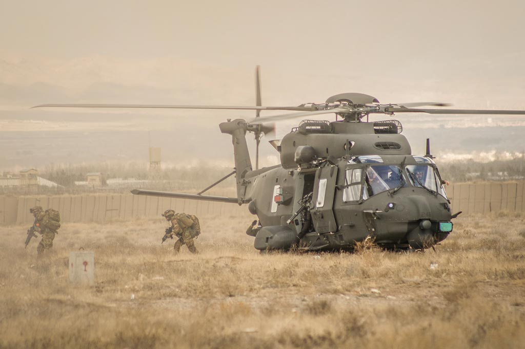 NH-90 Personnal Recovery