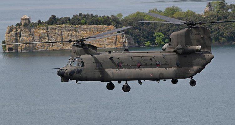 CH-47F Chinook 1 Reggimento AVES Antares