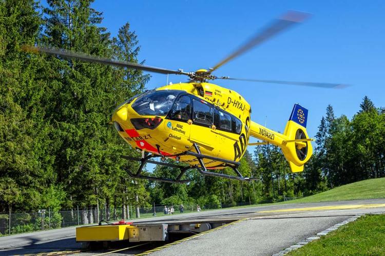 Airbus H145 ADAC Luftrettung biocarburante SAF
