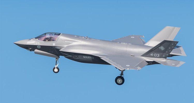 terzo F-35B Marina Militare