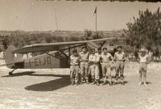 1B- Piper Cub 1957- Campo Misano Adriatico E Arrighi
