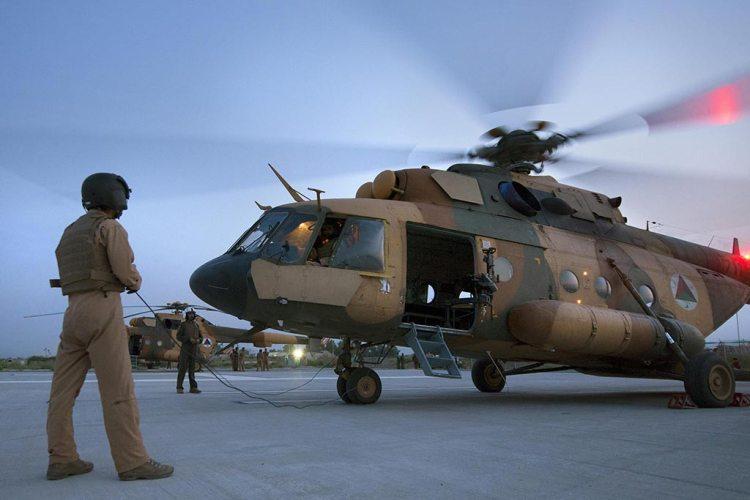 afghan air force Mi-17 Hip