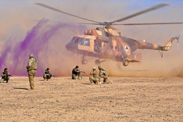 afghan air force Mi-17