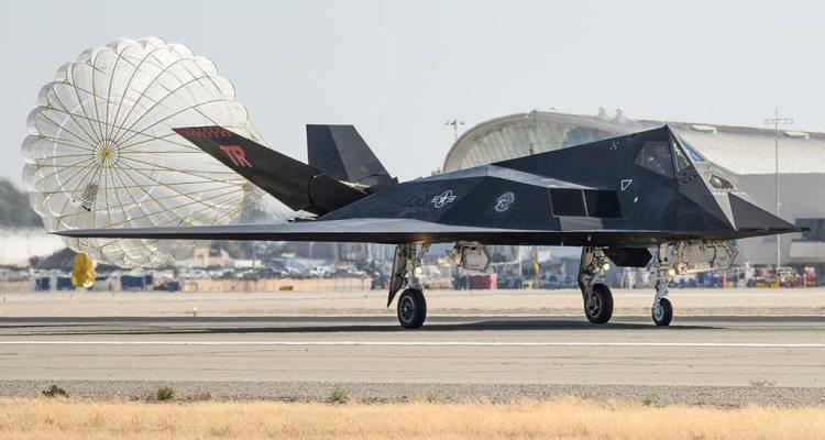 F117 Nighthawk Fresno settembre 2021