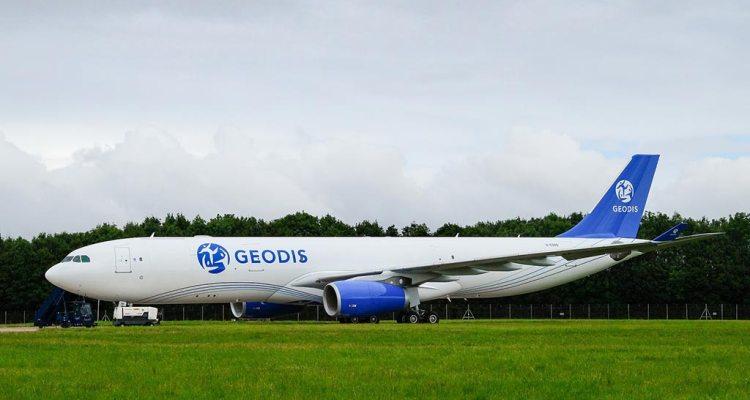 GEODIS airbus a330 cargo