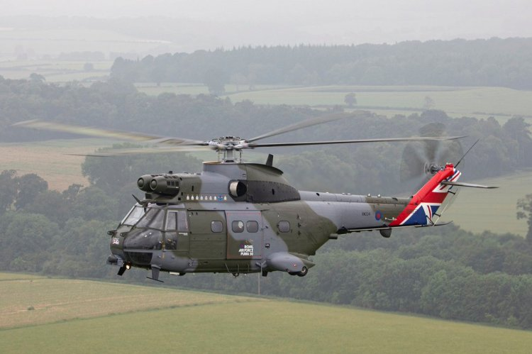 RAF Puma HC2 special color
