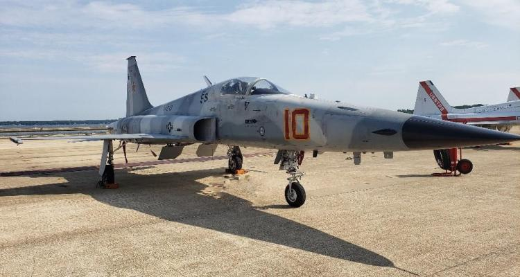 US Navy F-5N Tiger aggressor
