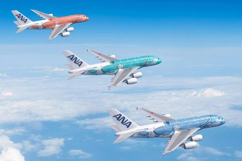 All-Nippon-Airways-Airbus A380