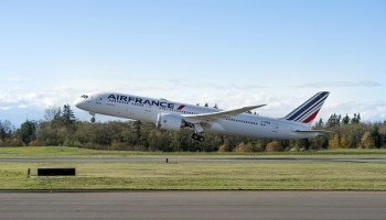 Trip Report: Air France Boeing 787-9 Dreamliner Welcome