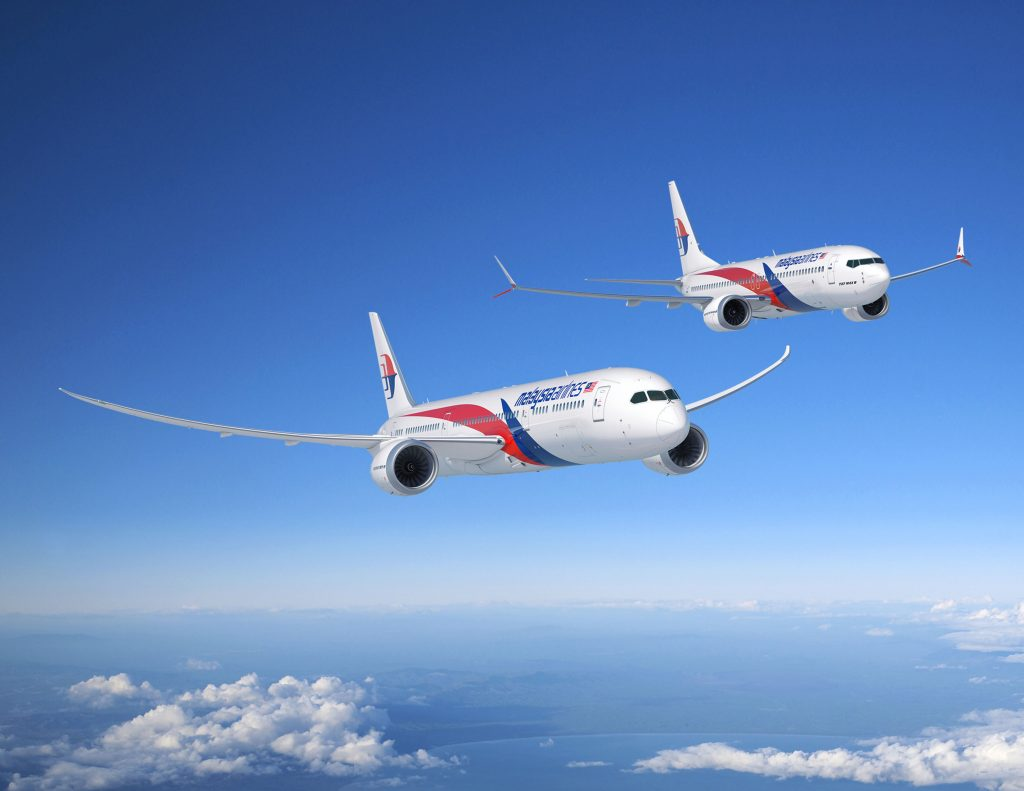 Malaysia Airlines signed MOU for 8 Boeing 787 Dreamliner and 8 Boeing 737 MAX aircraft - Aviation24.be