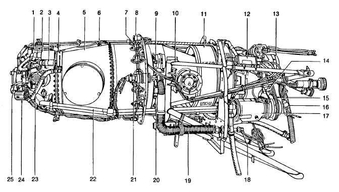 Figure 2-14. Engine (Sheet 1 of 2)