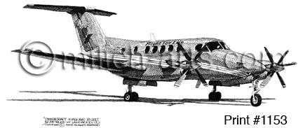BEECHCRAFT KING AIR B200 FLIGHT FOR LIFE (#1153