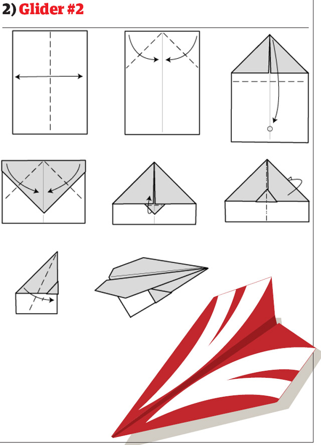 paper airplane diagram of parts 2003 honda crv power window wiring airplanes how to fold and create that fly easily glider design 2