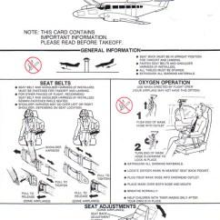 Cessna 406 Diagram Volkswagen Jetta Radio Wiring Airline Safety Card For Caravan Ii Jpg