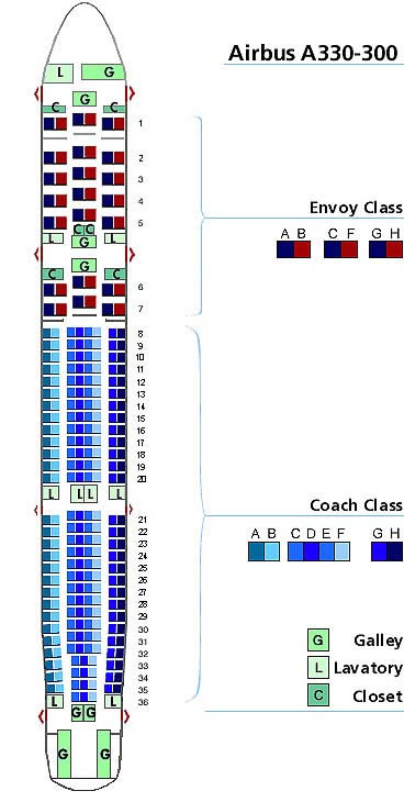 Seating Chart For Delta Airlines Brokeasshomecom - Us airways seat map