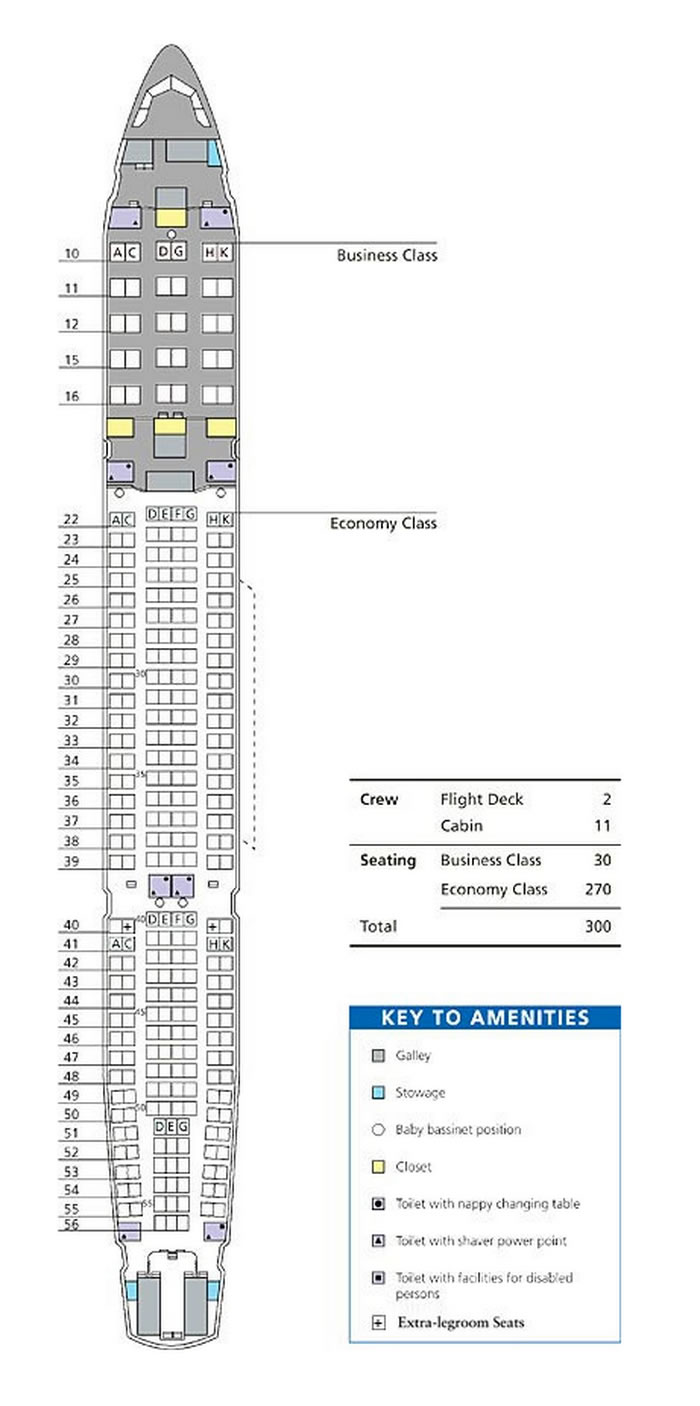 medium resolution of dragonair airlines airbus a330 300 aircraft seating chart