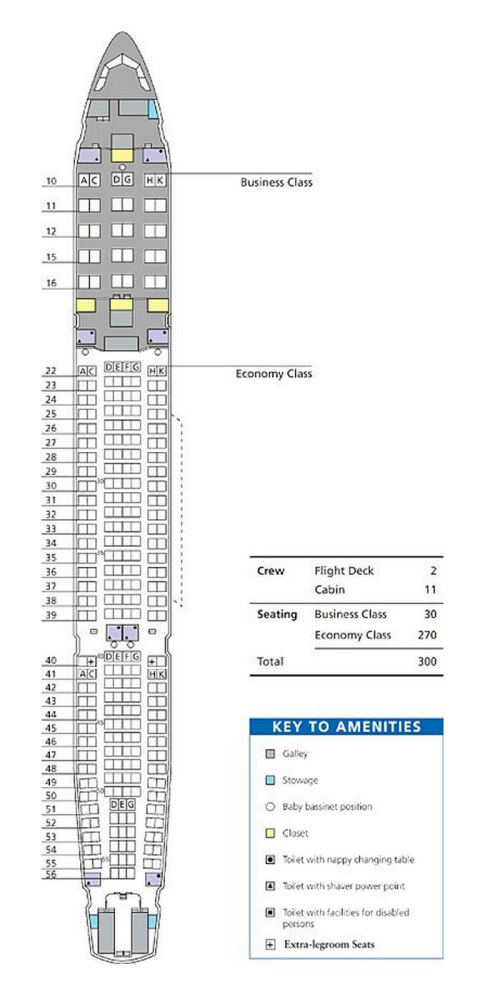 small resolution of dragonair airlines airbus a330 300 aircraft seating chart