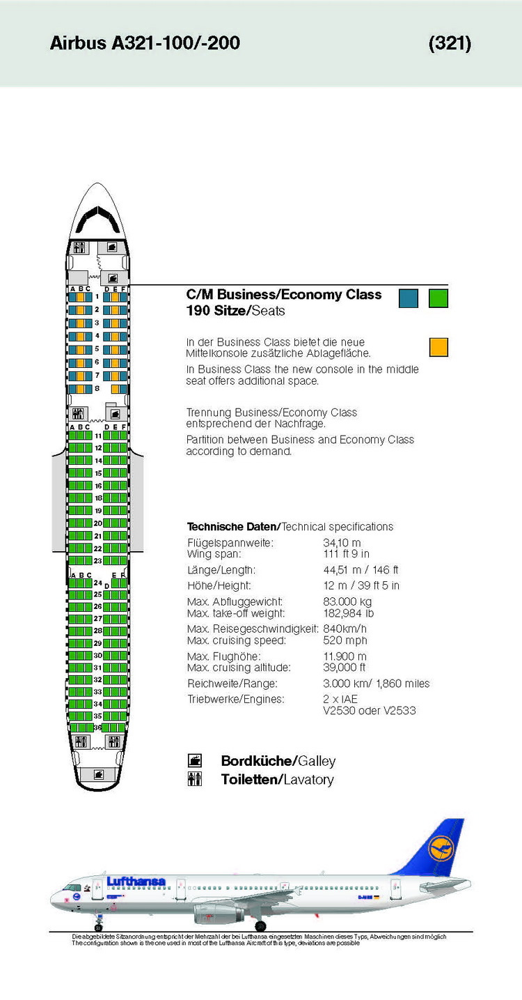 Boeing 747 400 Seating Chart