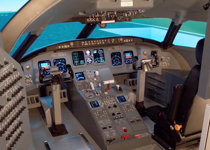 crj cockpit aircraft
