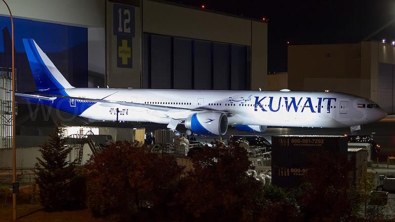 Resultado de imagen para Kuwait Airways first B777-300ER