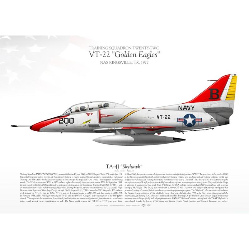 """TA-4J """"Skyhawk"""" VT-22"""