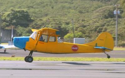 Glider Tow Plane Crash in Hawaii