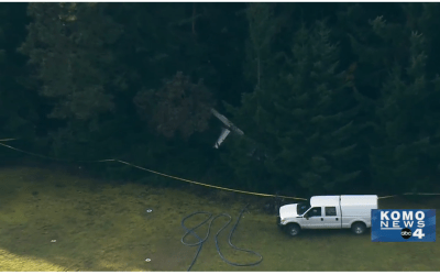 Two Pilots Die in Whidbey Island Crash