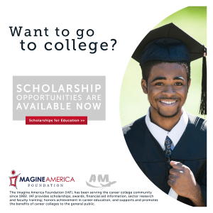 Aviation Institute of Maintenance offers Scholarships through Imagine America | AIM