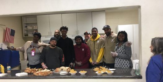 Tidewater Tech Staff and Students Volunteer at Local Church to Serve Lunch to Community