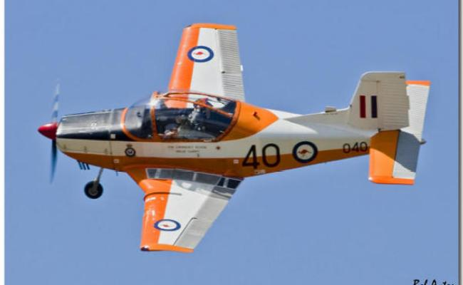 Ct4b Airtrainer Rnzaf Original Red Grey Scheme