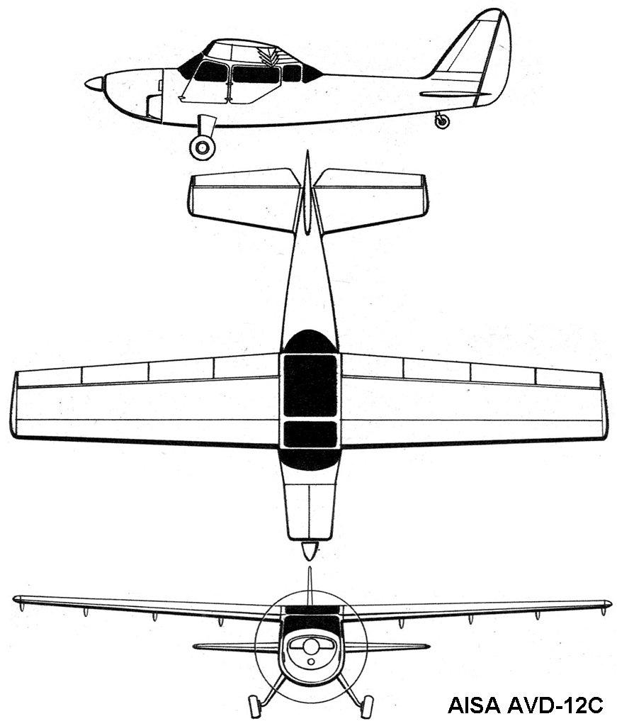 AviationsMilitaires.net — AISA AVD-12
