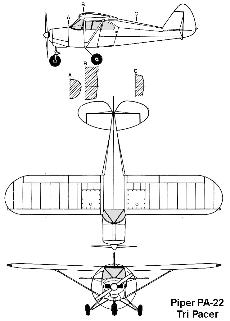 AviationsMilitaires.net — Piper PA-20 Pacer